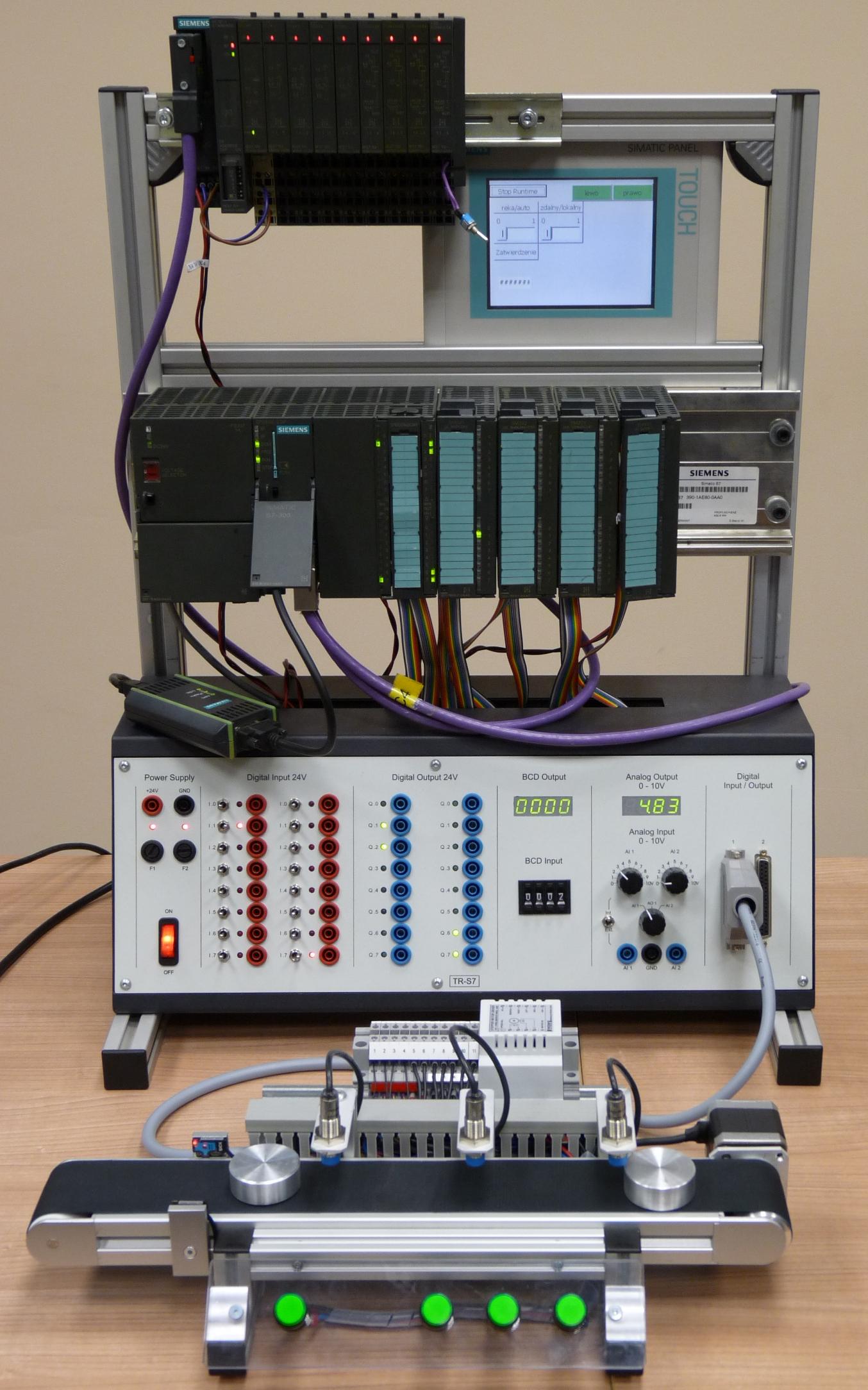 Stanowisko szkoleniowe PLC 1
