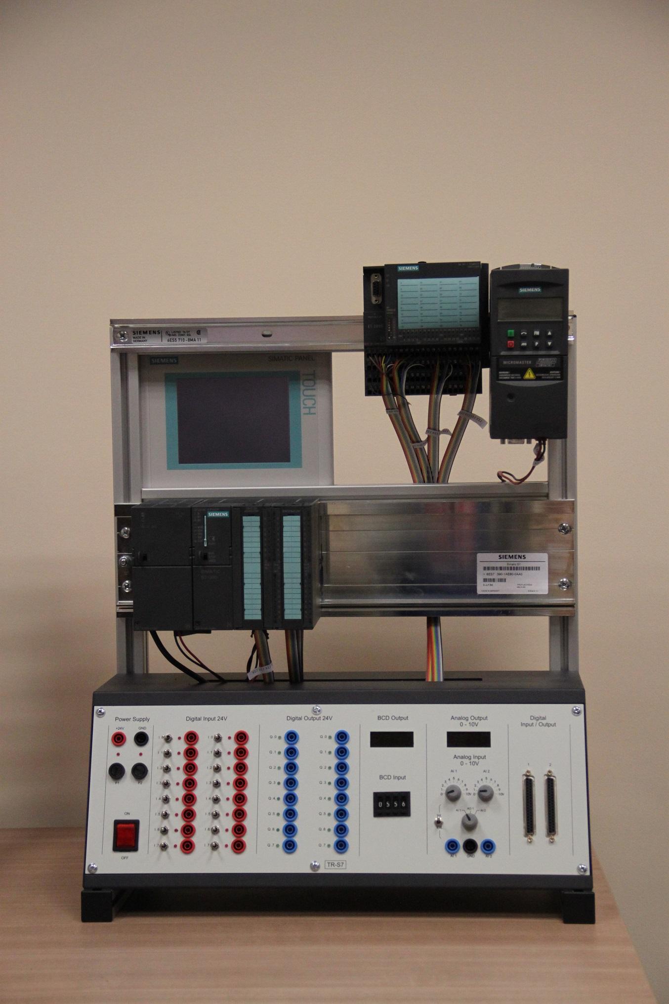 Stanowisko szkoleniowe PLC 2