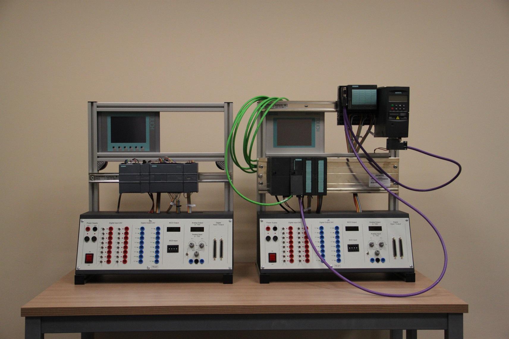 Stanowisko szkoleniowe PLC 4