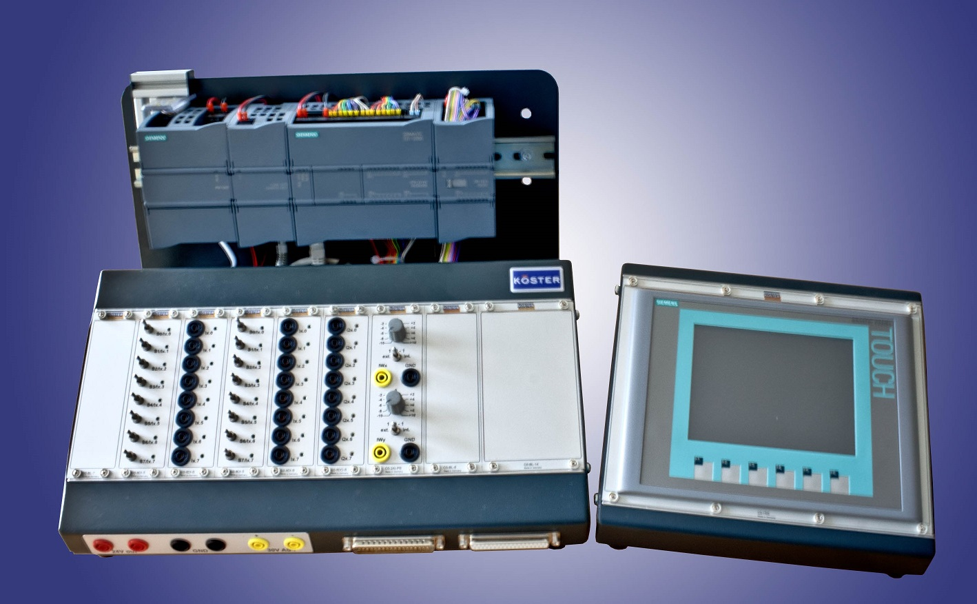 S7-1200 Trainer and HMI 2