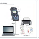Tester kwalifikujący dla sieci Ethernet: NetXpert 1400 IE